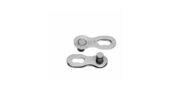 """KMC CL-566 Kettenschloss 1/2x11/128"""" 9-fach 6,6 mm silver"""